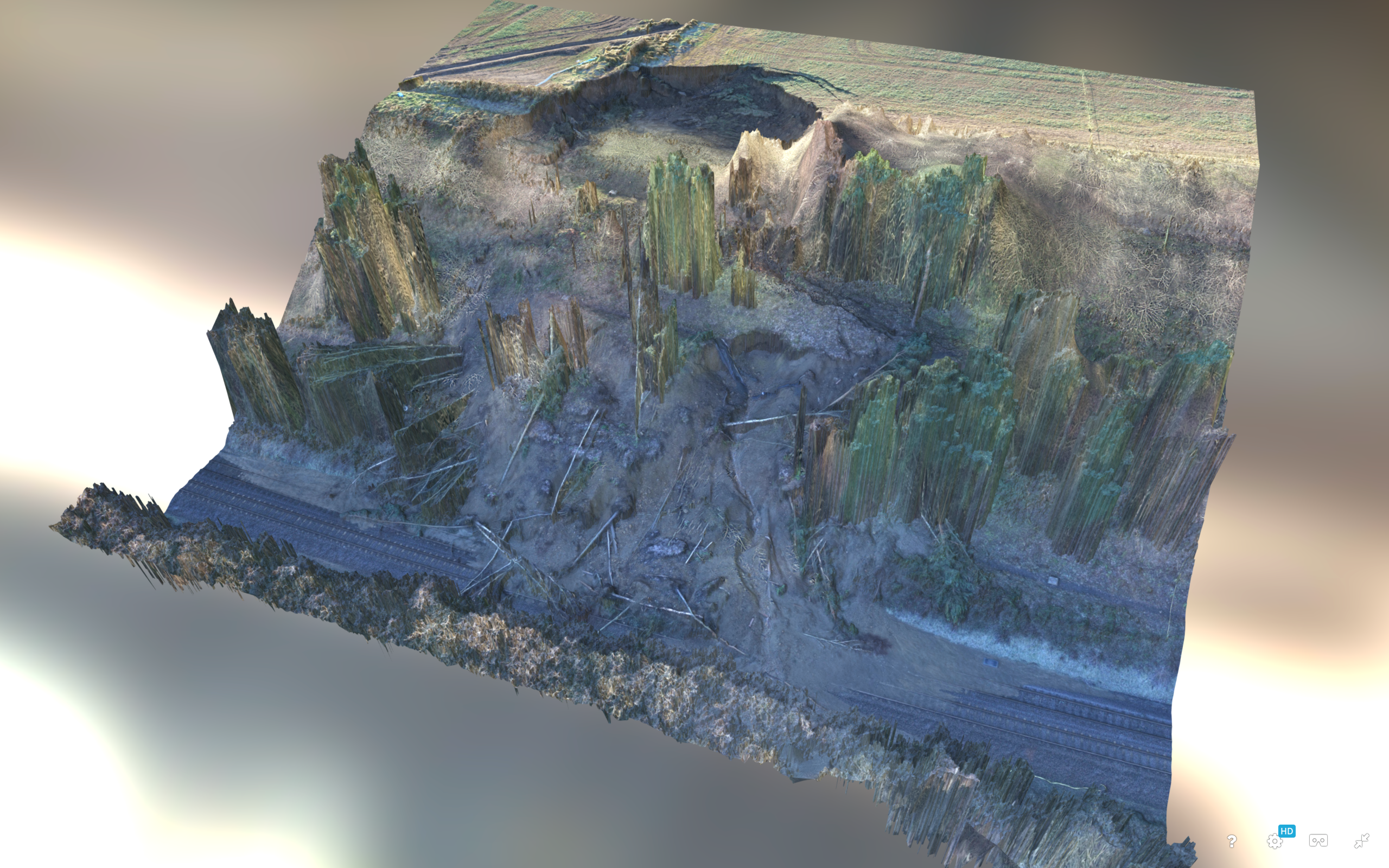 Photogrammetry Farnley Haugh 3D Model