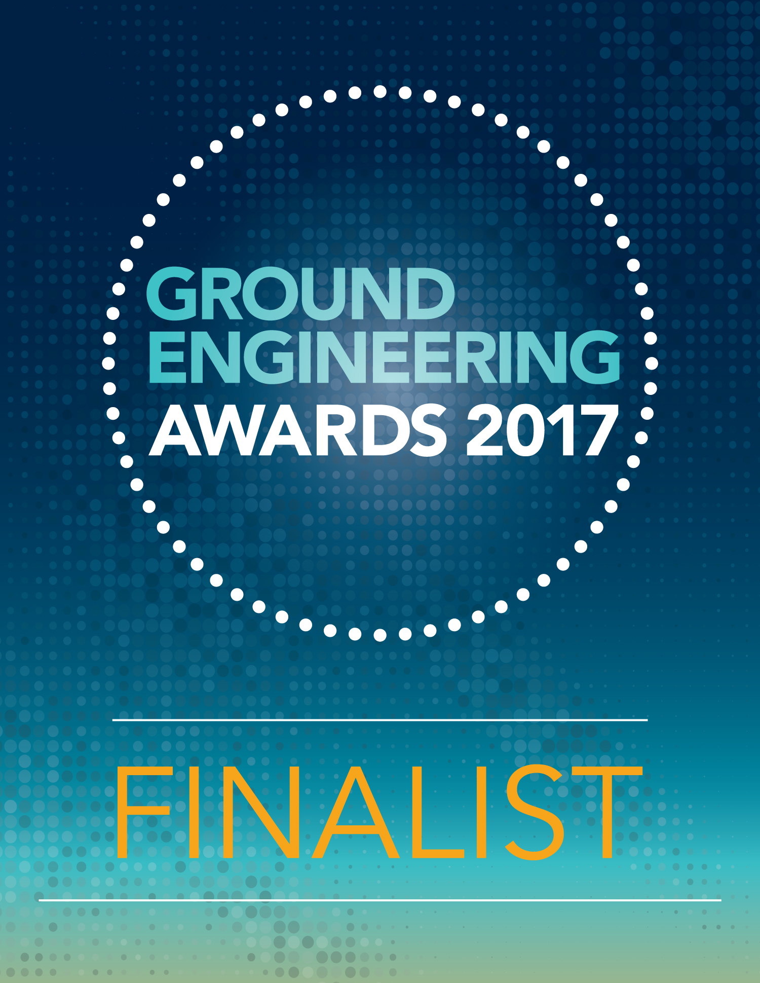 Ground Engineering Awards Finalist 2017