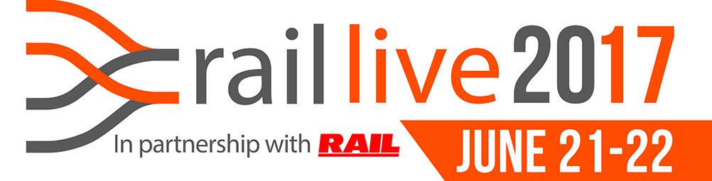 Rail Live 2017 logo