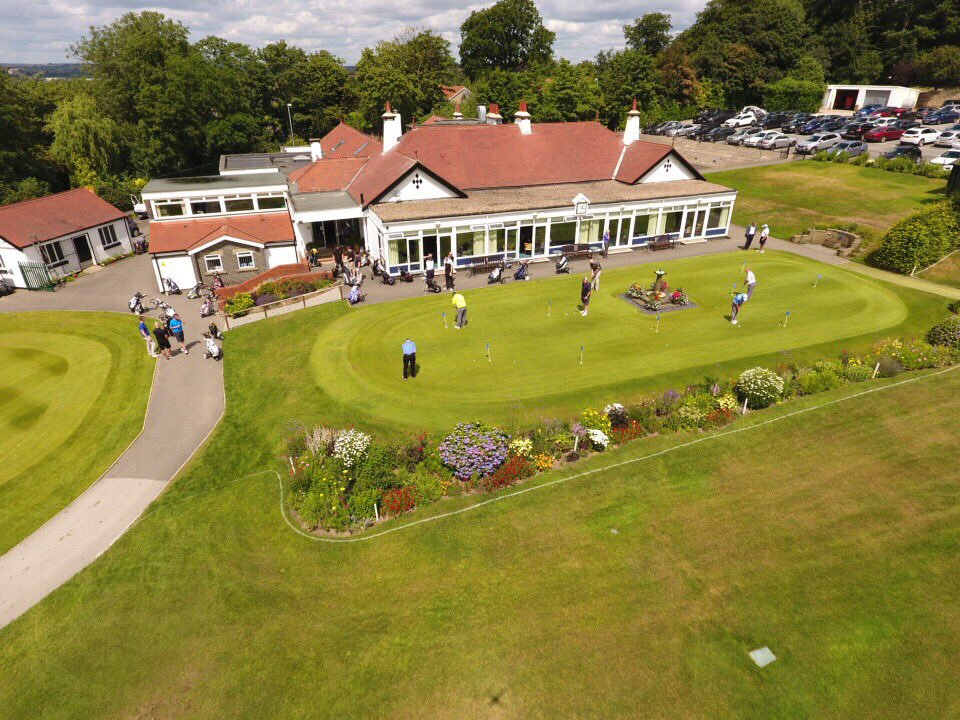 Golf Day Drone Image